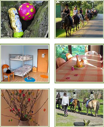 Oster-Reiterferien auf dem Ponyhof Reuter