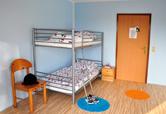 Gemütliche und sonnige Mehrbett-Zimmer